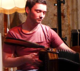 Conor Moriarty - Button Accordion tutor Ceol na Coille Summer School 2014