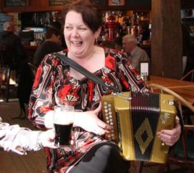 Donna Harkin - Button Accordion, Ceol na Coille Summer School, Letterkenny, Co. Donegal. Wild Atlantic Way