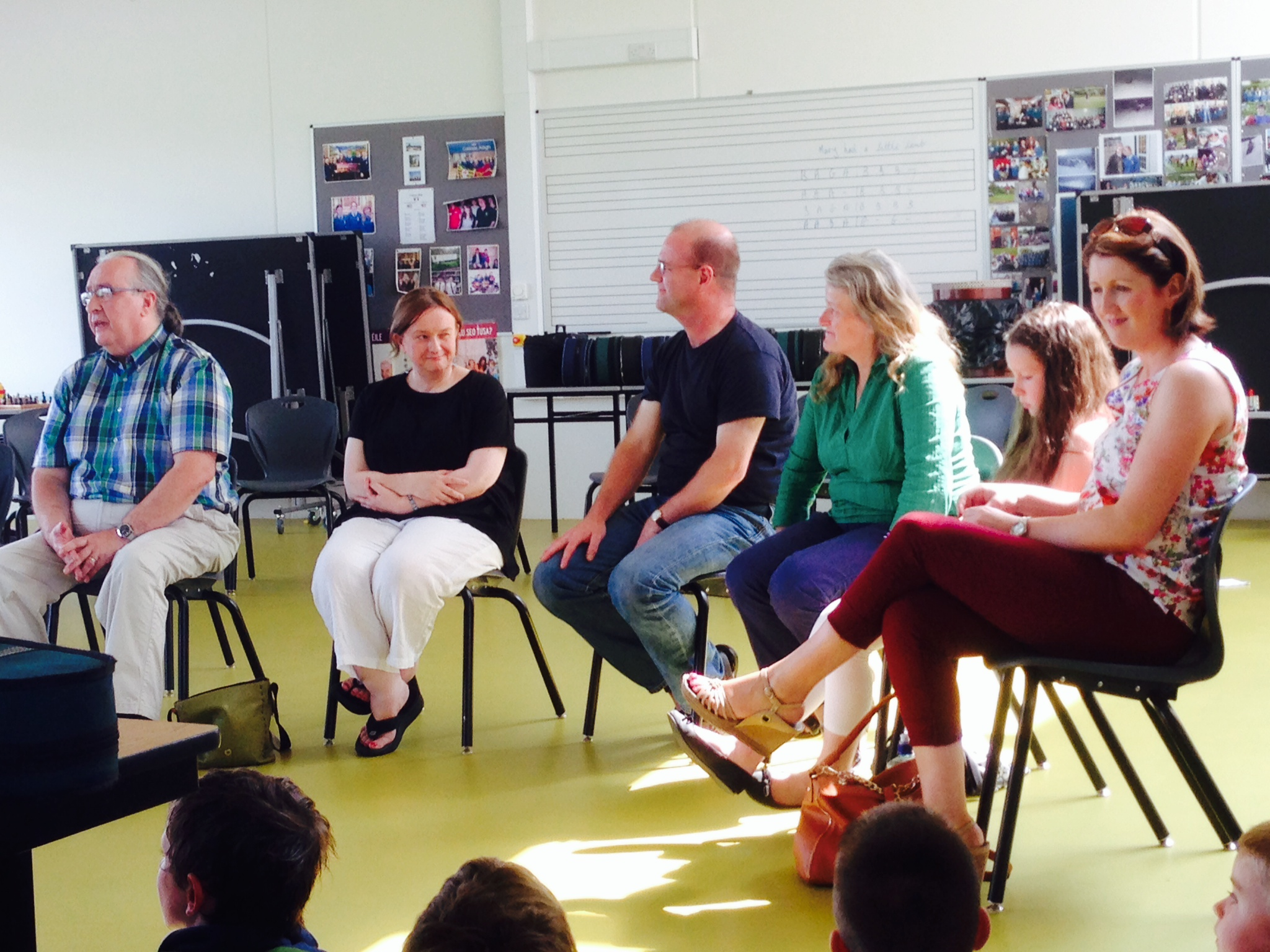 Inishowen Singers Circle @ Ceol na Coille Summer School 2014