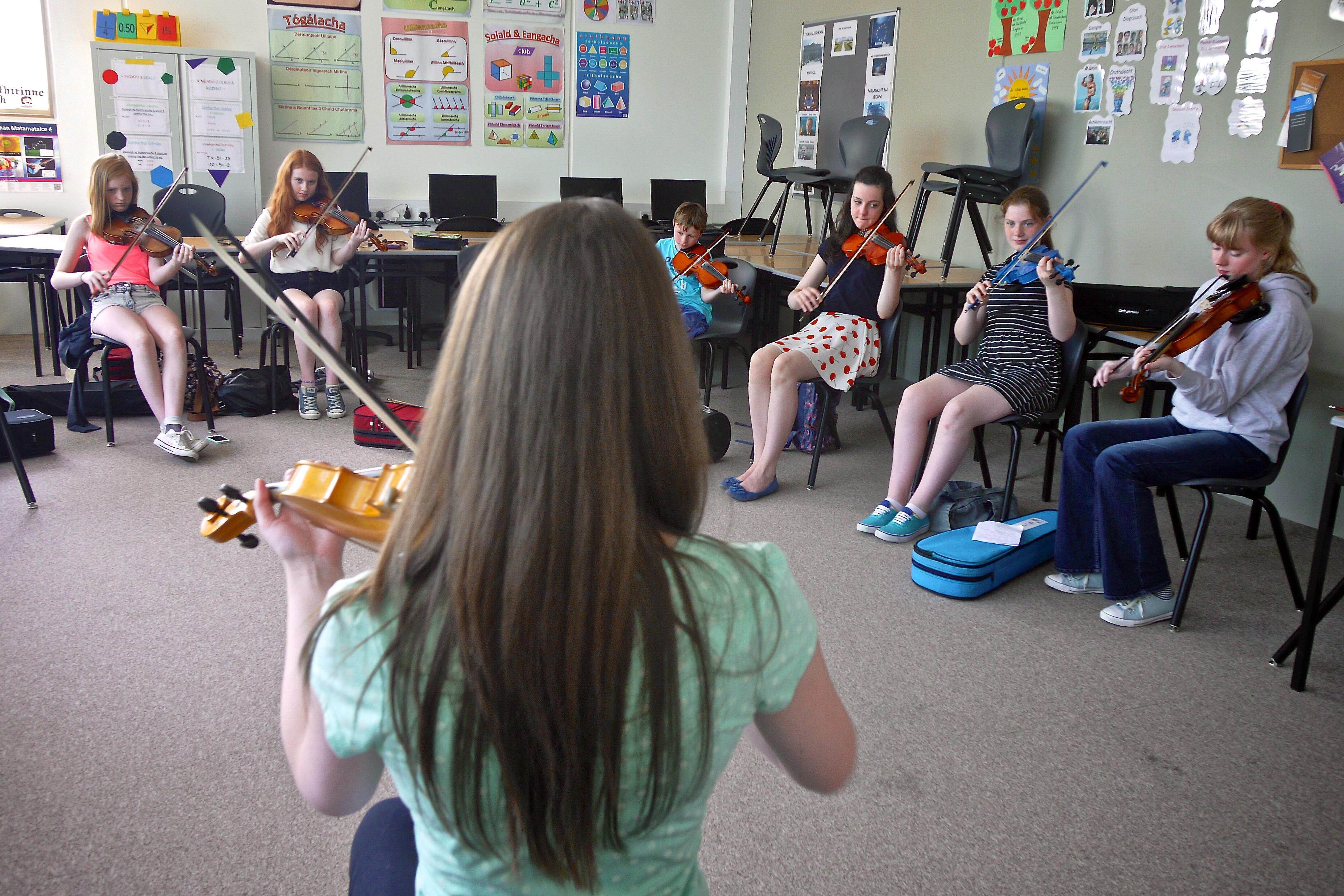 Melanie Houton @ CeolnaCoille Summer School 2014