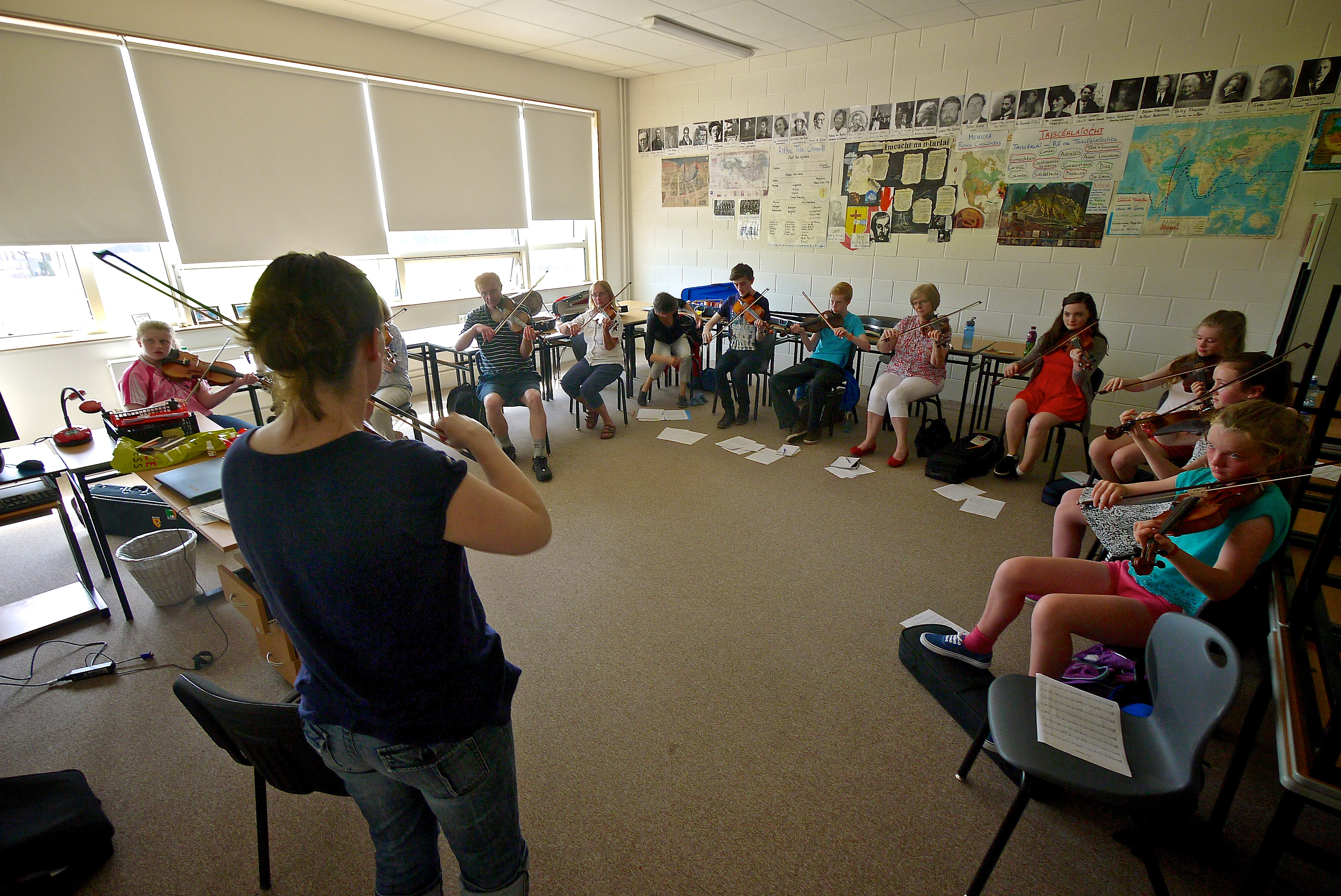 Roisin McGrory@Ceol na Coille Summer School 2014