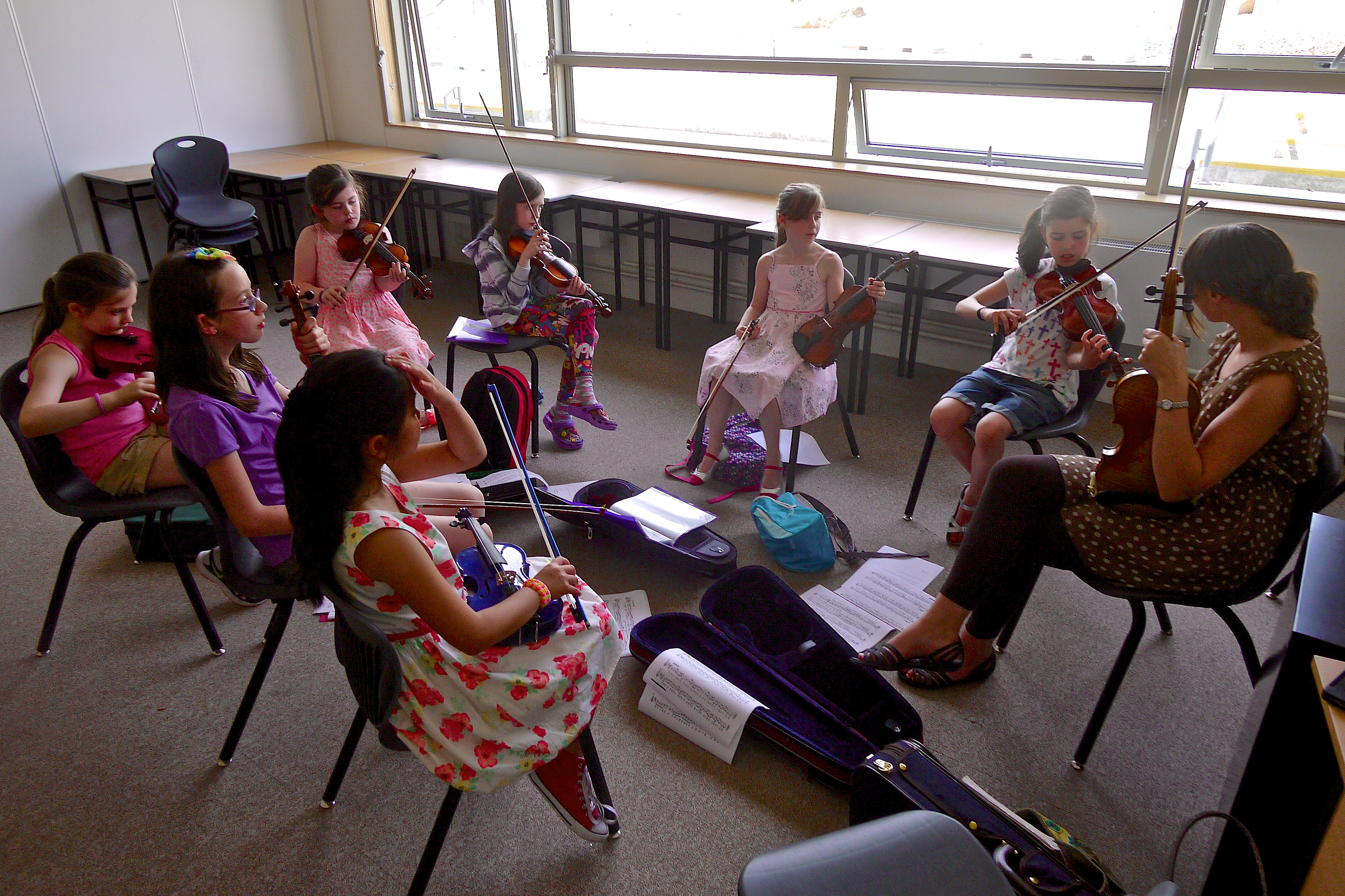 Theresa Kavanagh Fiddle Tutor at Ceol na Coille Summer School 2014