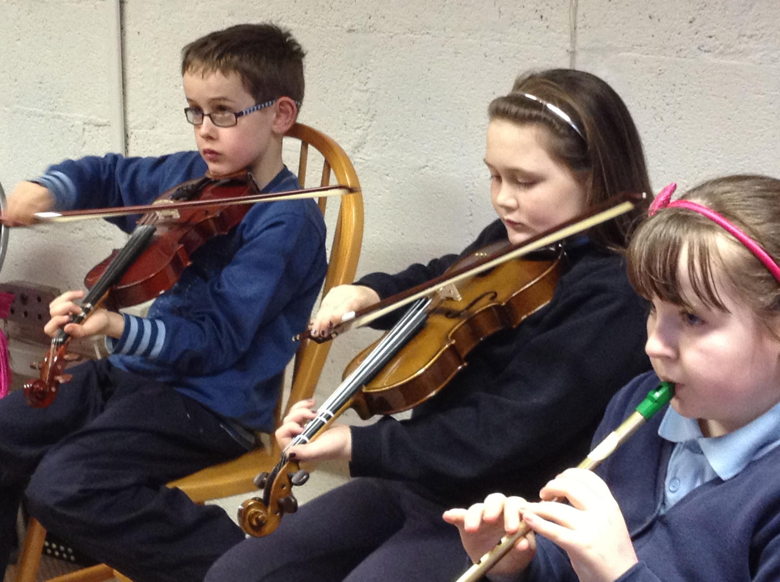traditional irish music lessons children