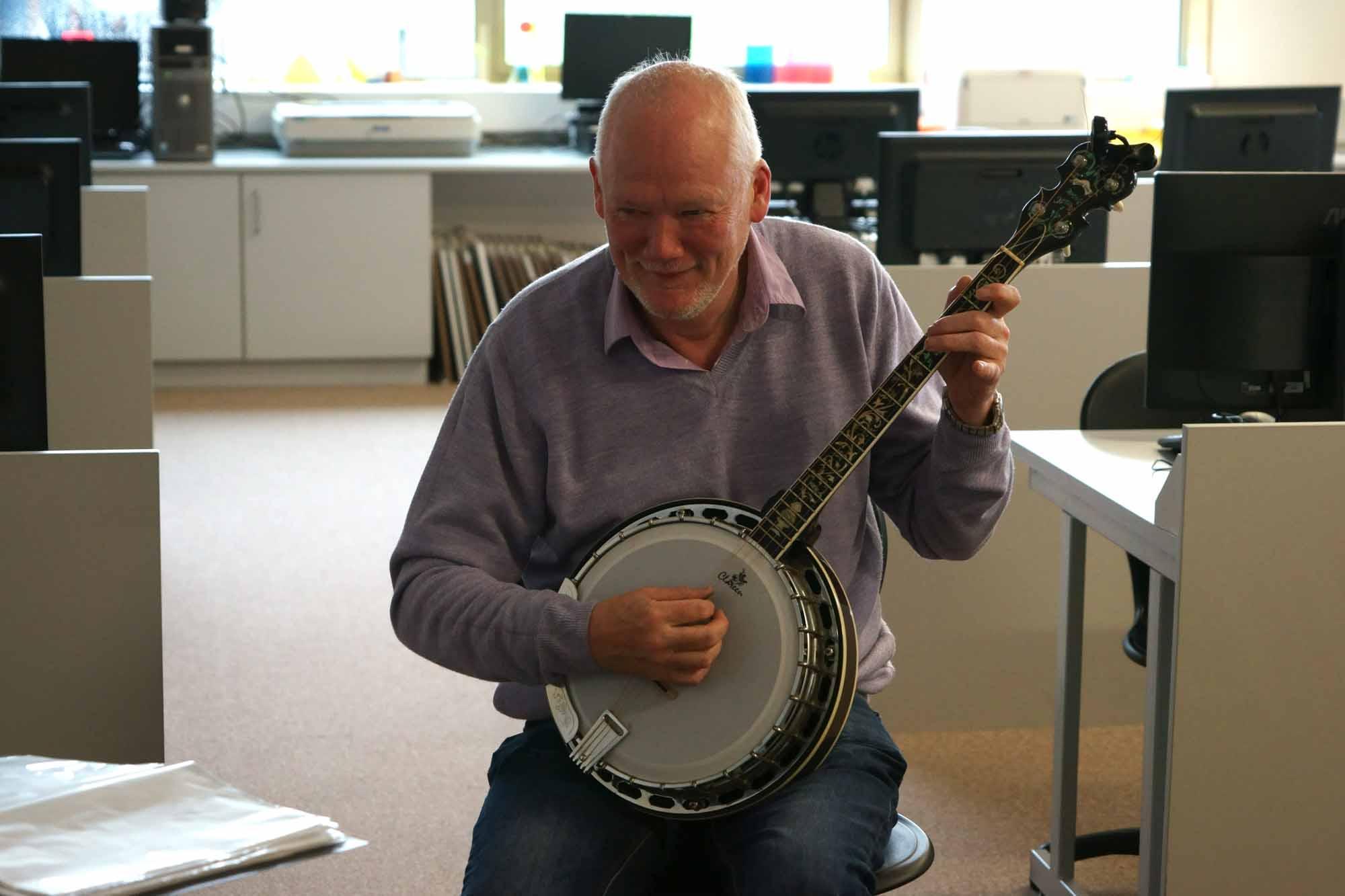 Ceol na Coille Banjo man