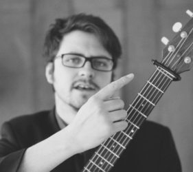 Innes Watson, Guitar, Ceol na Coille Summer School, Guitar Tutor, Jarlath Henderson July, 2019,