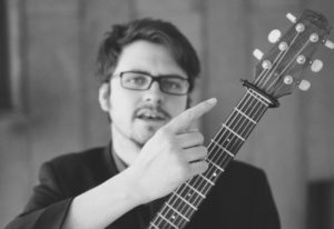 Innes Watson, Guitar, Ceol na Coille Summer School, Guitar Tutor, Jarlath Henderson July, 2019,